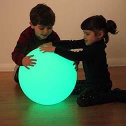 Luminiscenční náladová kostka / koule/ oblázek/ pyramida/ vejce
