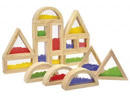 Motorika - dřevěné hrací bloky (více druhů)