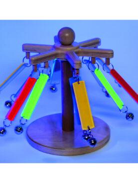 UV sklíčkový kolotoč - senzorika
