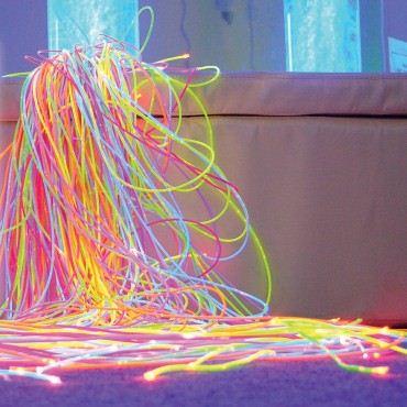 Ultrafialová UV optická vlákna