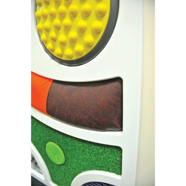 Abstraktní dotykový nástěnný panel