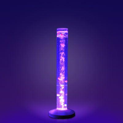 Bublinkový sloup / válec s barevnými míčky – stimulace dotyková, vizuální a sluchová