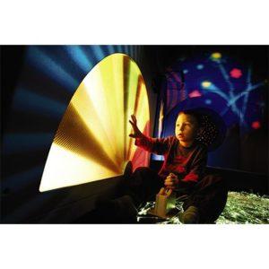 Vizuální projekce a interaktivní světelné efekty