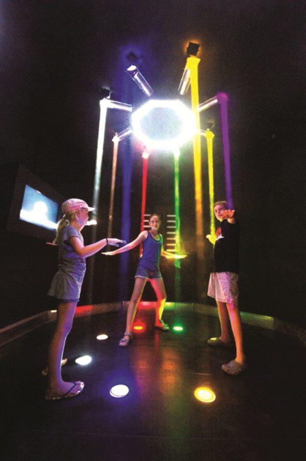 Interaktivní světelný systém