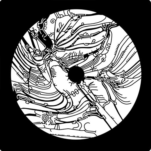 Kosmický / Space projektor - kotoučky