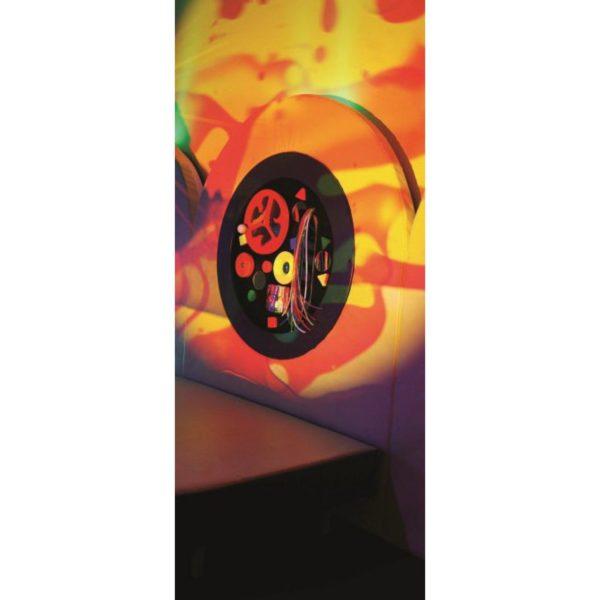 Kruhový taktilní  UV panel